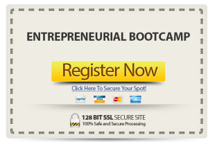 Register Now for the Entepreneurial Bootcamp